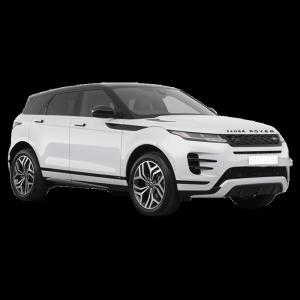 Renting Range Rover Evoque imagen delantera