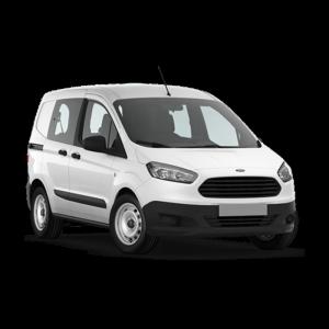 Renting Ford Transit Courier imagen delantera