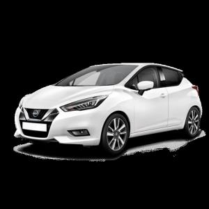 Renting Nissan Micra imagen delantera