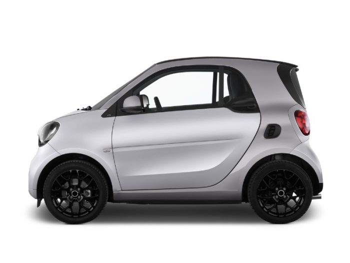 Renting Smart EQ Fortwo 100% eléctrico Imagen Lateral